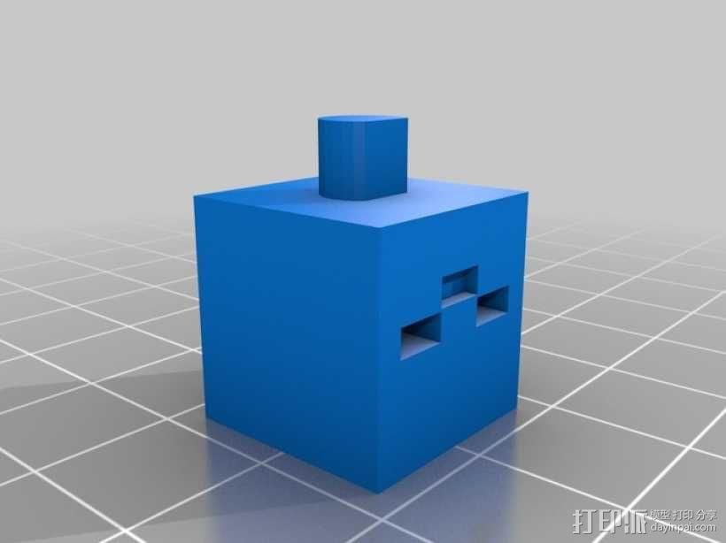 《Minecraft》系列象棋 3D模型  图7