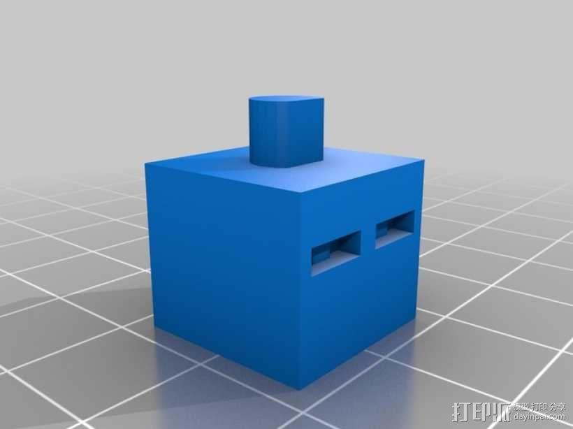 《Minecraft》系列象棋 3D模型  图13