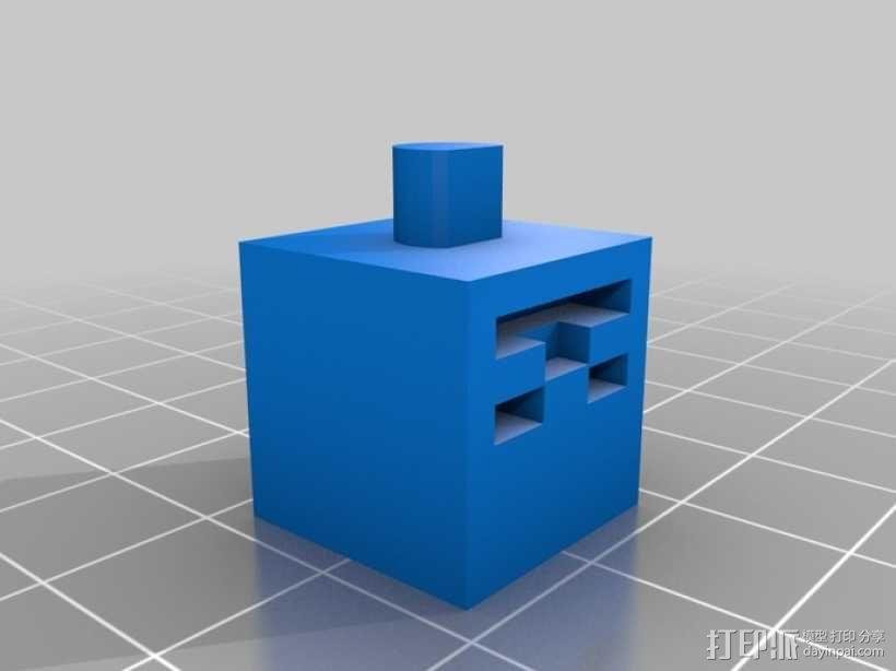 《Minecraft》系列象棋 3D模型  图11
