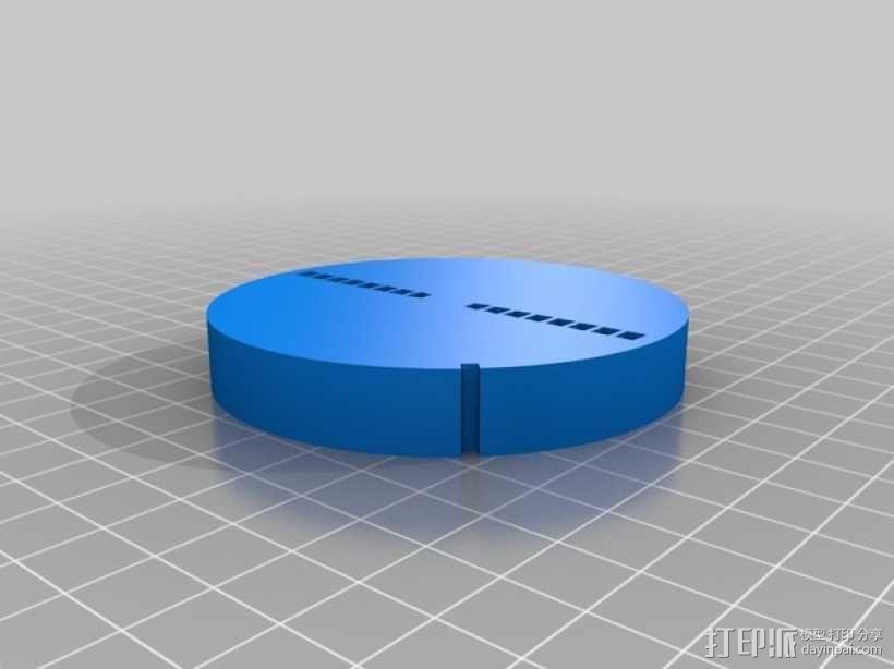 手调式连锁反应模型 3D模型  图3