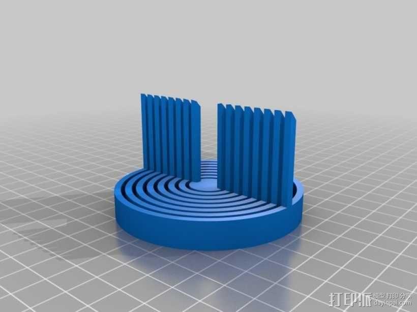 手调式连锁反应模型 3D模型  图4