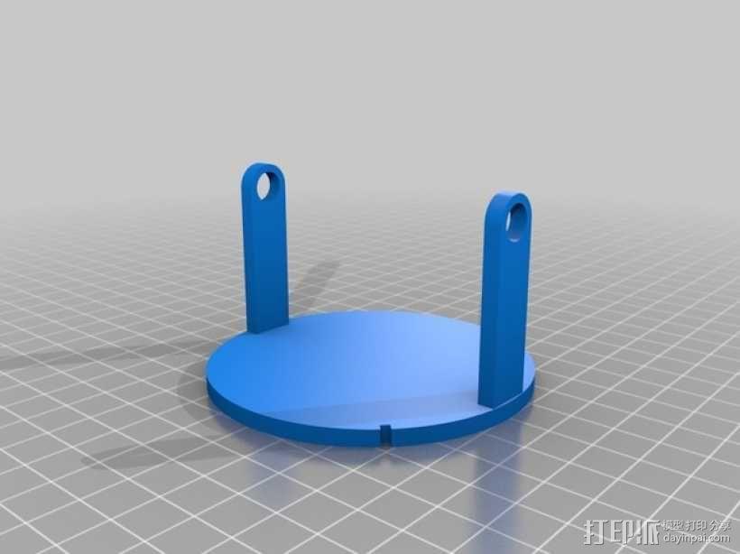 手调式连锁反应模型 3D模型  图7