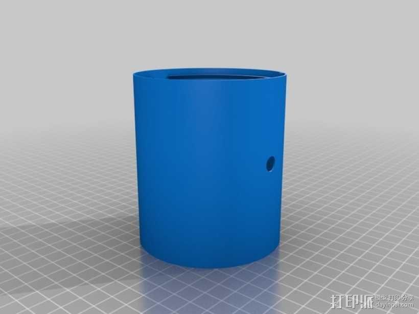 手调式连锁反应模型 3D模型  图8