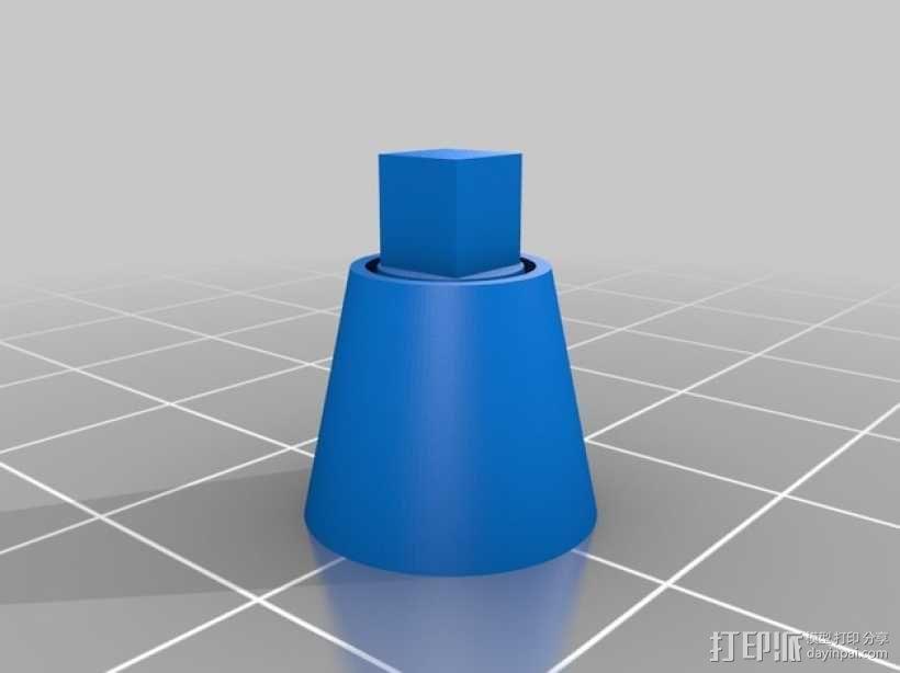 手调式连锁反应模型 3D模型  图10