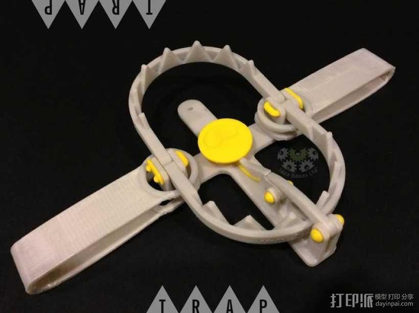 迷你陷阱装置 3D模型  图1