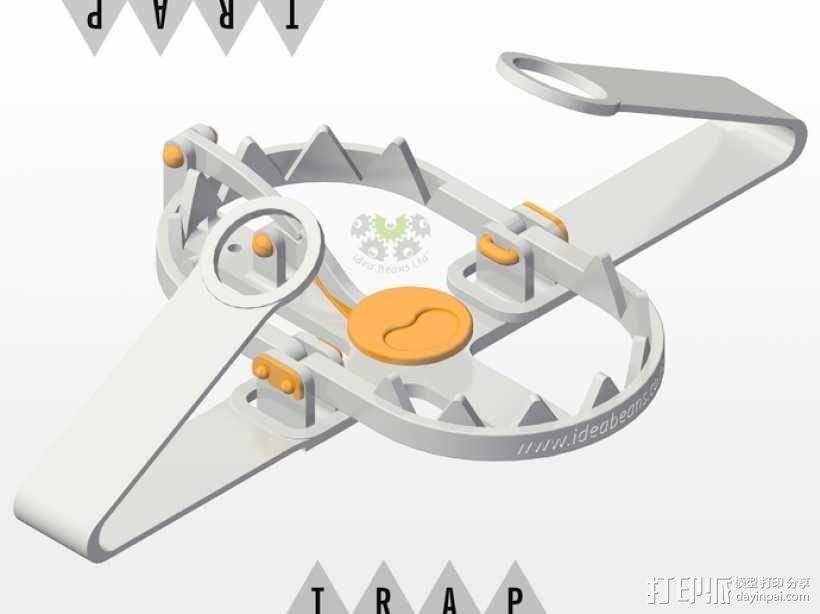迷你陷阱装置 3D模型  图4