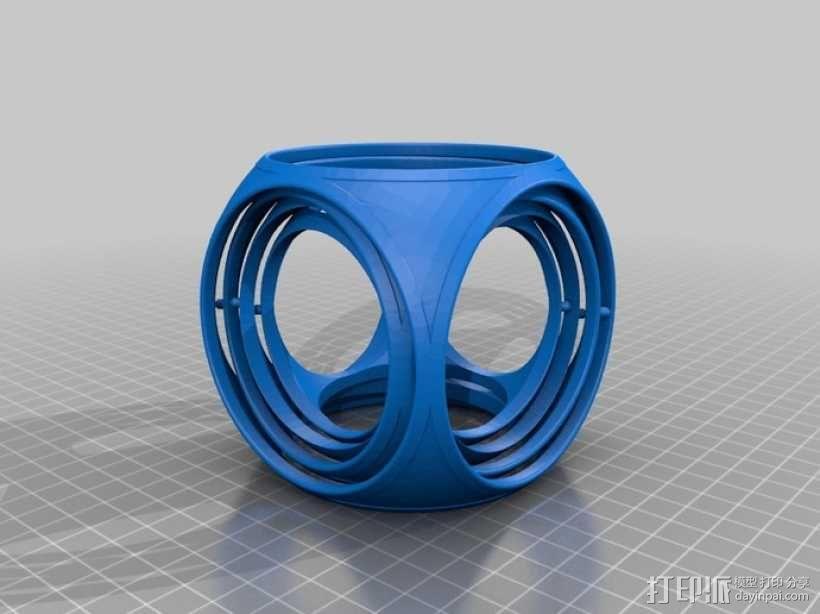 陀螺魔方 3D模型  图3