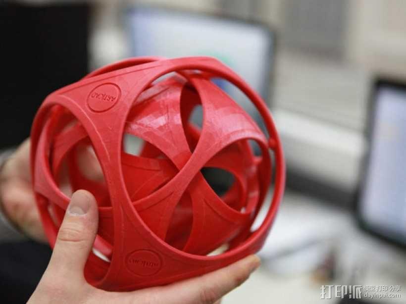 陀螺魔方 3D模型  图1