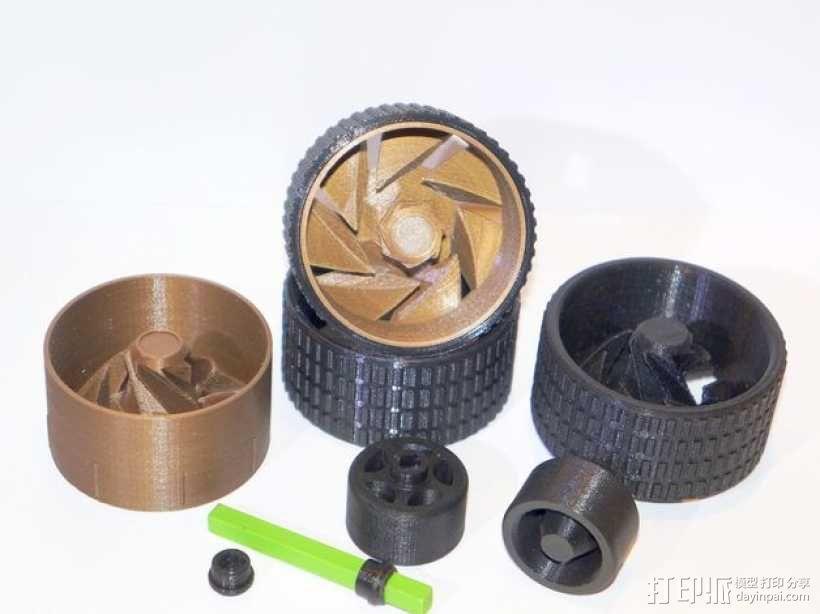 轮胎工具包 3D模型  图1