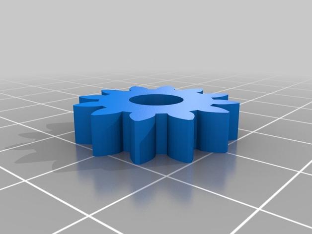 齿轮玩具 3D模型  图3