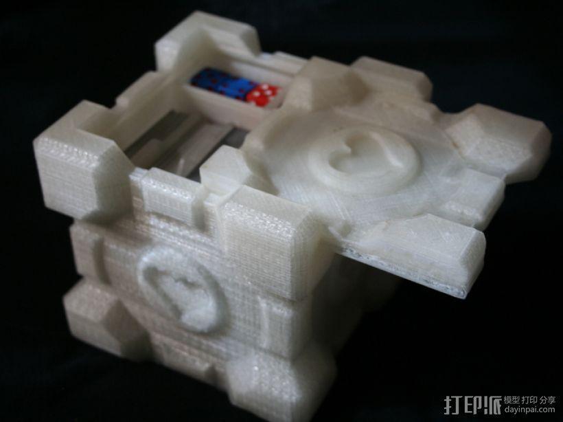 双层立方体 3D模型  图1