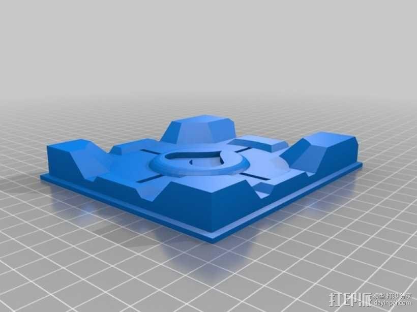 双层立方体 3D模型  图2