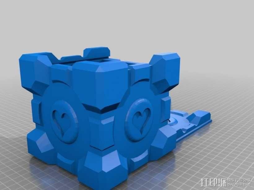 双层立方体 3D模型  图11