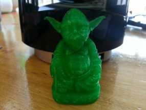 尤达大师佛像 3D模型
