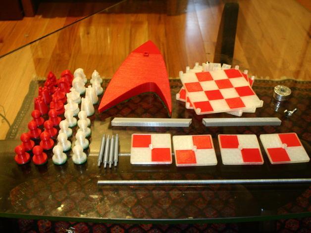 便携式象棋 3D模型  图4