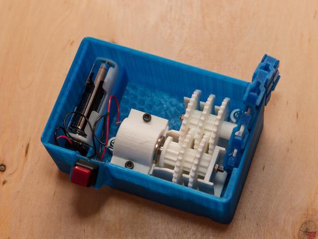 喷气式电动机 3D模型  图3