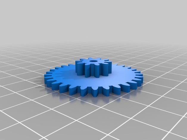 喷气式电动机 3D模型  图6