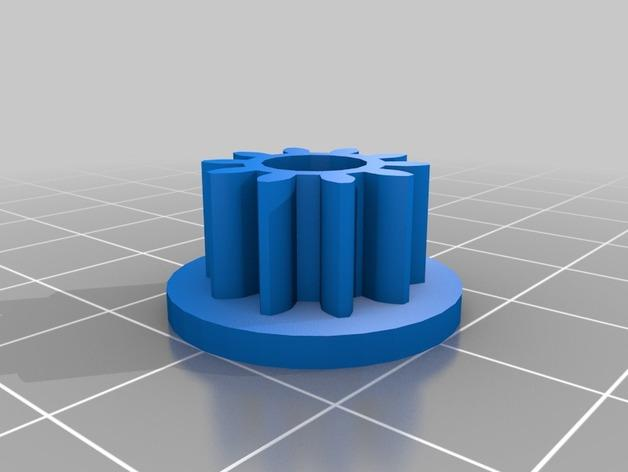 喷气式电动机 3D模型  图5