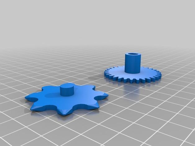 喷气式电动机 3D模型  图7