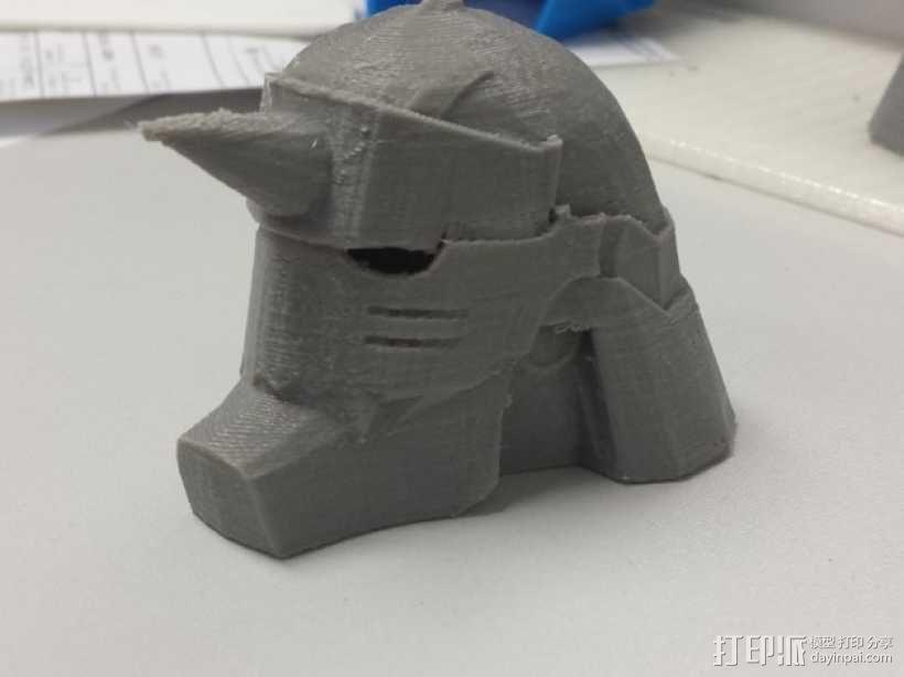 阿尔方斯头盔 3D模型  图3