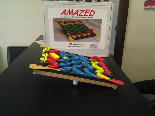 3D打印的棋盘游戏 3D模型  图4