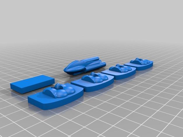 3D打印的棋盘游戏 3D模型  图9