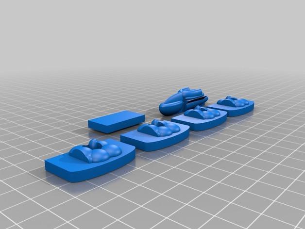 3D打印的棋盘游戏 3D模型  图10