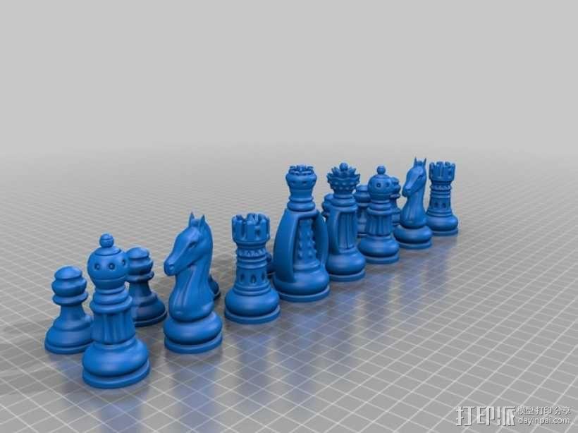 经典象棋 3D模型  图2