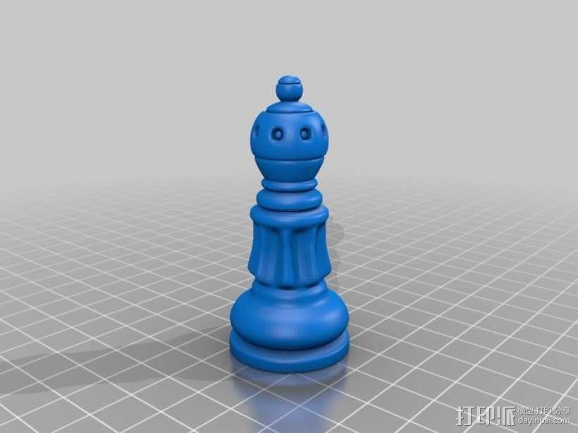 经典象棋 3D模型  图3