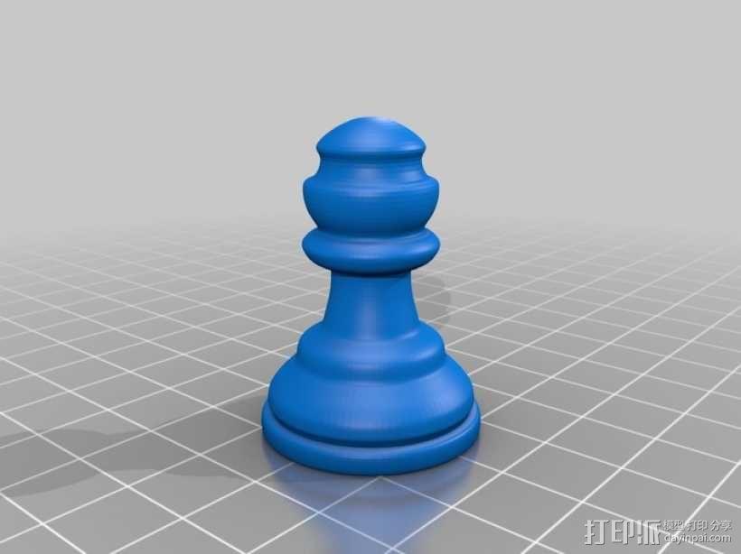 经典象棋 3D模型  图5