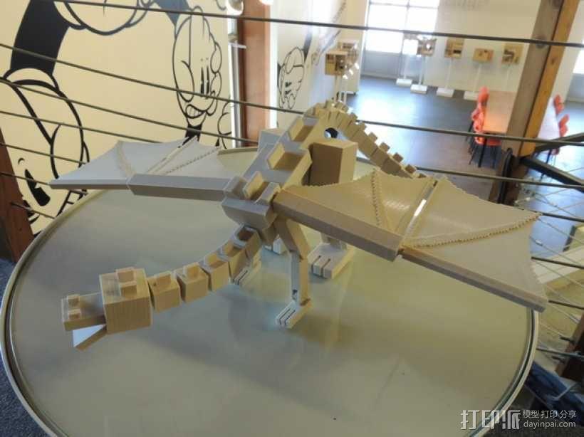 末影龙 3D模型  图1