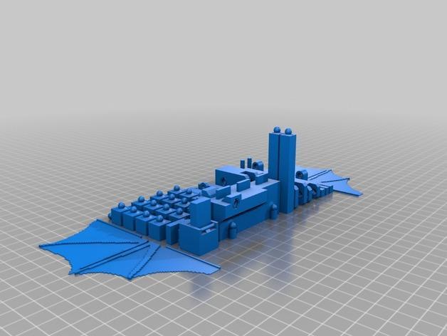 末影龙 3D模型  图2