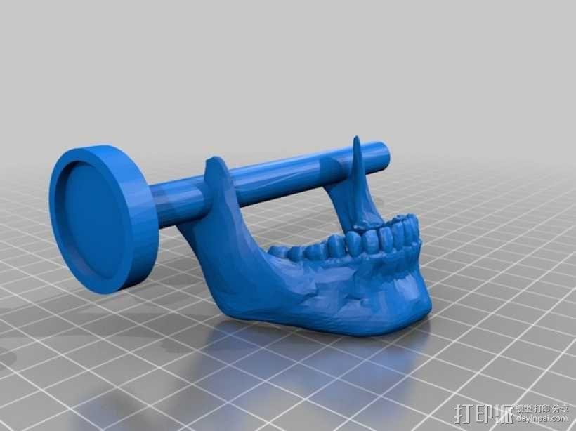 会说话的骷髅头 3D模型  图5