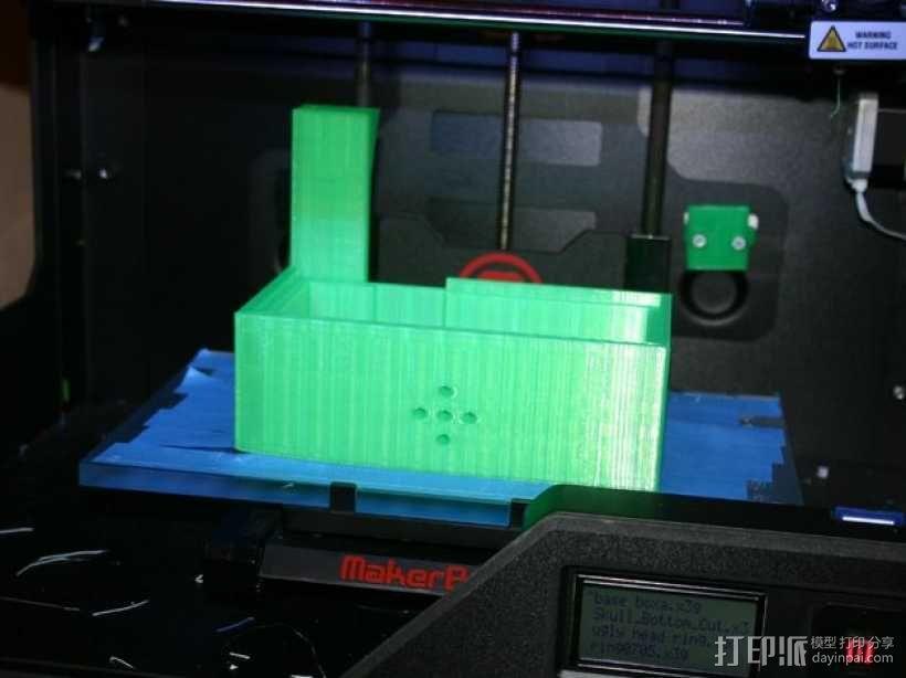 会说话的骷髅头 3D模型  图15