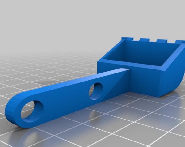 手指般大小的迷你挖掘机 3D模型  图8