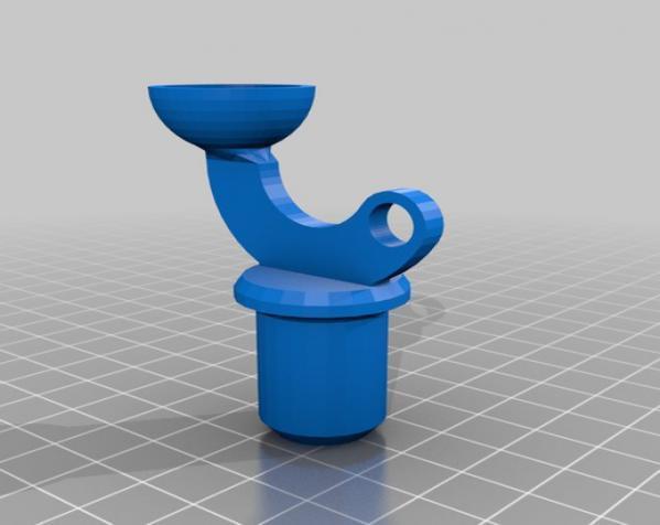 手指般大小的迷你挖掘机 3D模型  图11