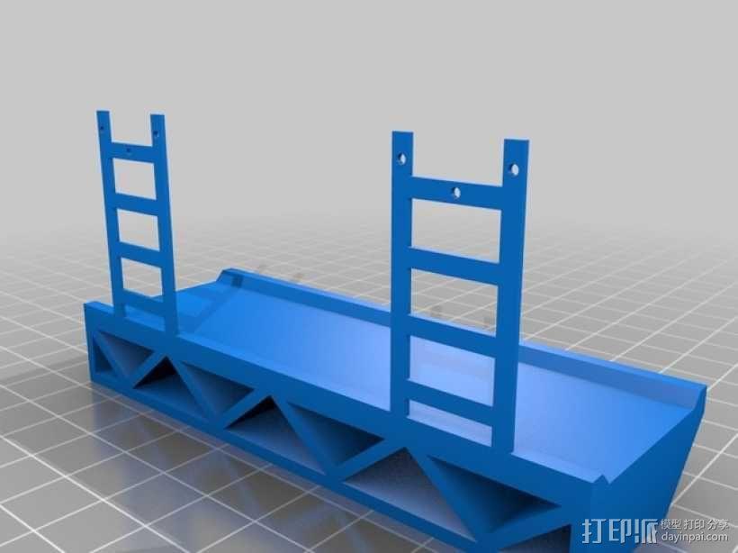 坡道模型 3D模型  图2