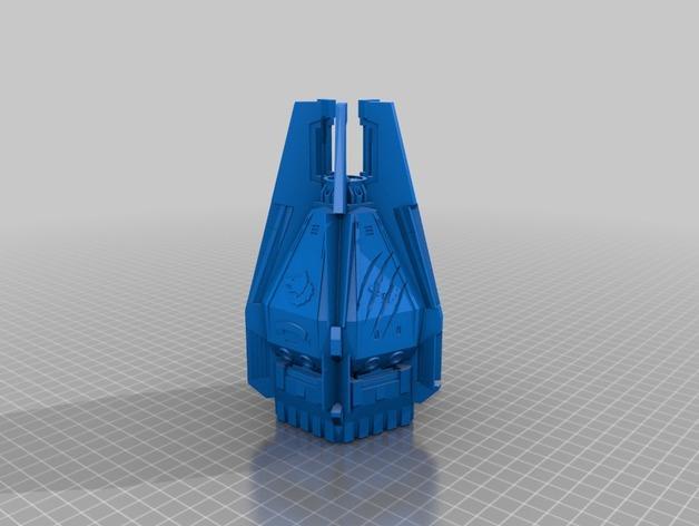 《星际战士》空投舱 3D模型  图1