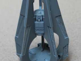 《星际战士》空投舱 3D模型
