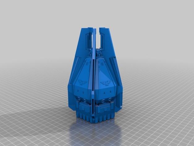 《星际战士》空投舱 3D模型  图10