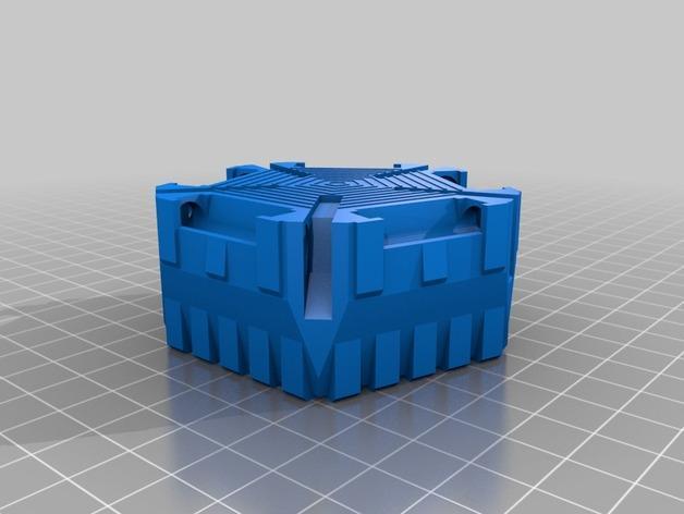 《星际战士》空投舱 3D模型  图13