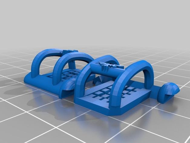 《星际战士》空投舱 3D模型  图21