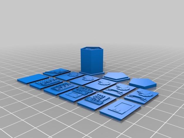 《星际战士》空投舱 3D模型  图25