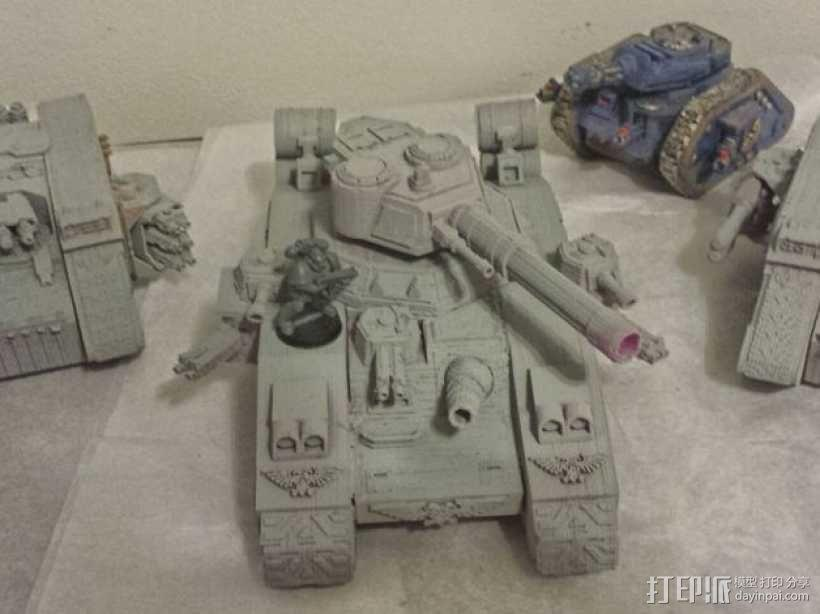 CurseSaber坦克 3D模型  图1