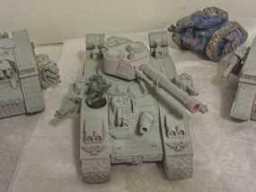 CurseSaber坦克 3D模型