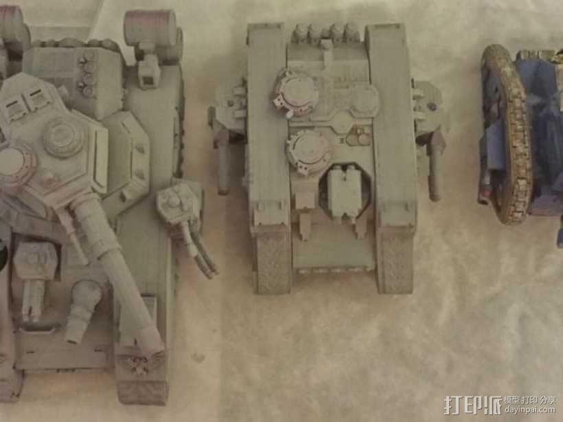 CurseSaber坦克 3D模型  图3