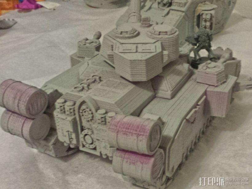 CurseSaber坦克 3D模型  图4