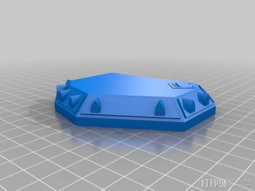 CurseSaber坦克 3D模型  图5