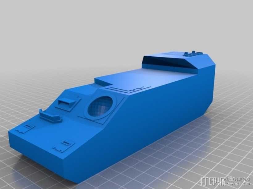 CurseSaber坦克 3D模型  图6