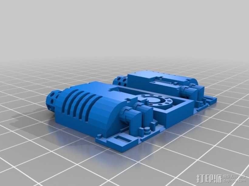 CurseSaber坦克 3D模型  图10